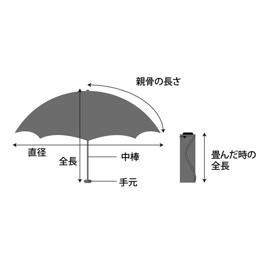 【公式】 ニフティカラーズ 傘  フラミンゴ ユニセックス 吸水ケース付 晴雨兼用 大きめ 60cm 折りたたみ ギフト UV 折傘 紫外線防止|niftycolors|12