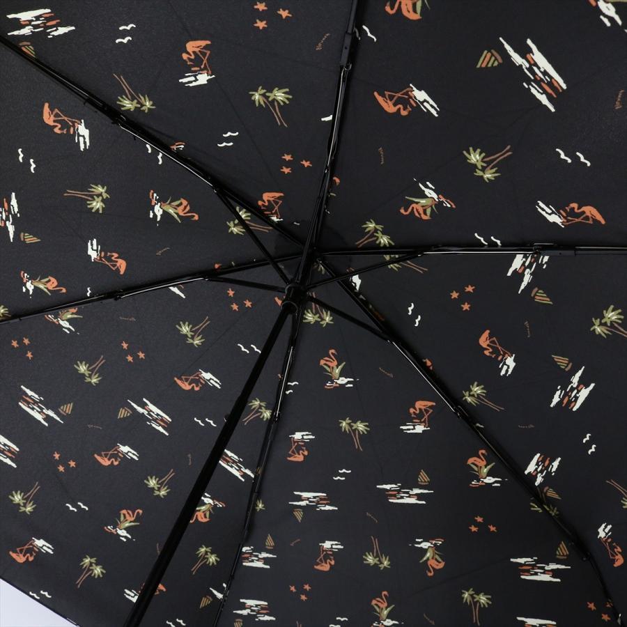 【公式】 ニフティカラーズ 傘  フラミンゴ ユニセックス 吸水ケース付 晴雨兼用 大きめ 60cm 折りたたみ ギフト UV 折傘 紫外線防止|niftycolors|08