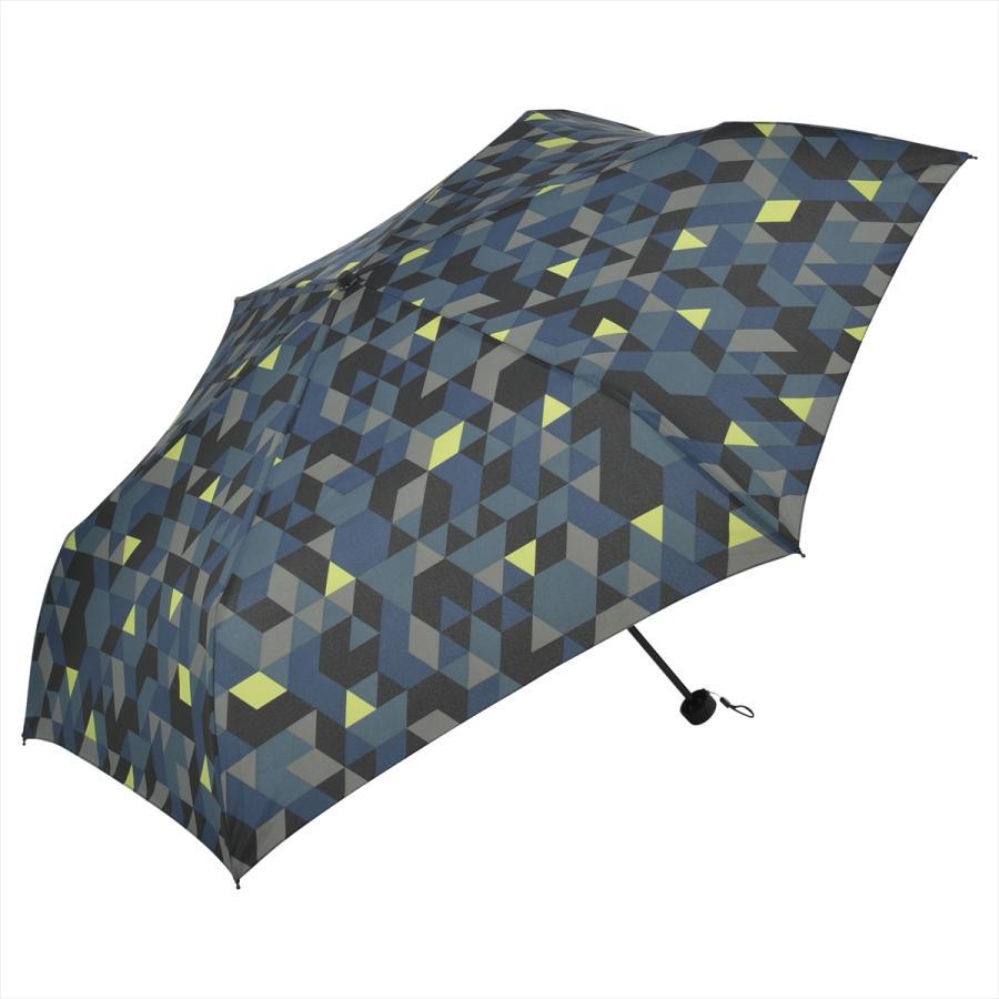 【公式】 ニフティカラーズ 傘  カモフラ モザイク ユニセックス 吸水ケース付 晴雨兼用 大きめ 60cm 折りたたみ ギフト 折傘 紫外線防止|niftycolors|02