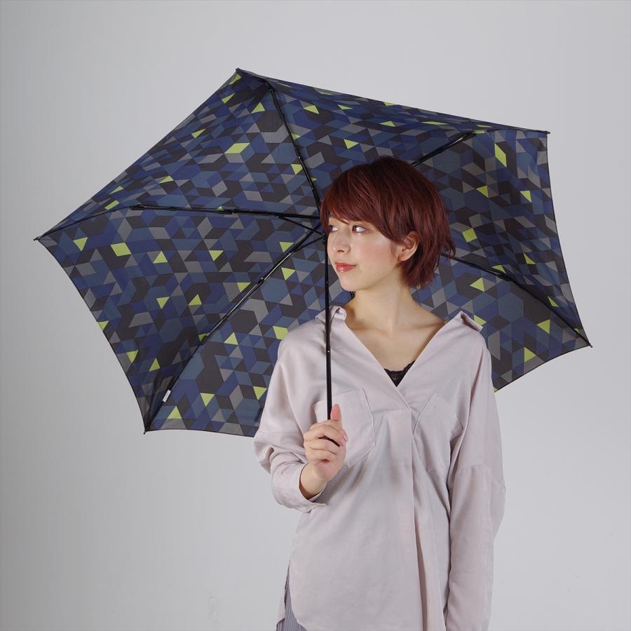 【公式】 ニフティカラーズ 傘  カモフラ モザイク ユニセックス 吸水ケース付 晴雨兼用 大きめ 60cm 折りたたみ ギフト 折傘 紫外線防止|niftycolors|10
