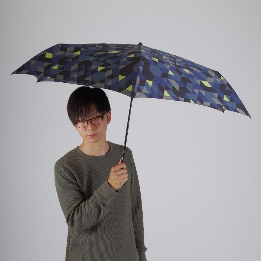 【公式】 ニフティカラーズ 傘  カモフラ モザイク ユニセックス 吸水ケース付 晴雨兼用 大きめ 60cm 折りたたみ ギフト 折傘 紫外線防止|niftycolors|11
