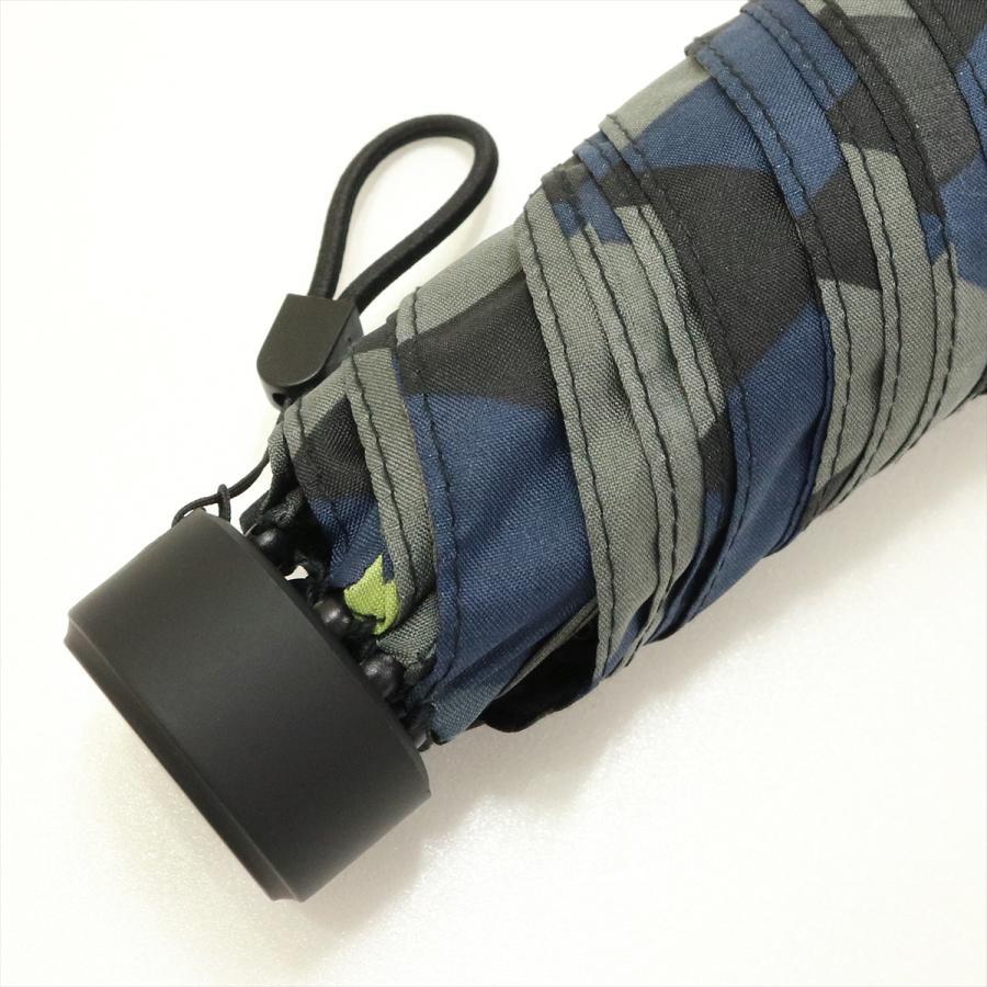【公式】 ニフティカラーズ 傘  カモフラ モザイク ユニセックス 吸水ケース付 晴雨兼用 大きめ 60cm 折りたたみ ギフト 折傘 紫外線防止|niftycolors|05