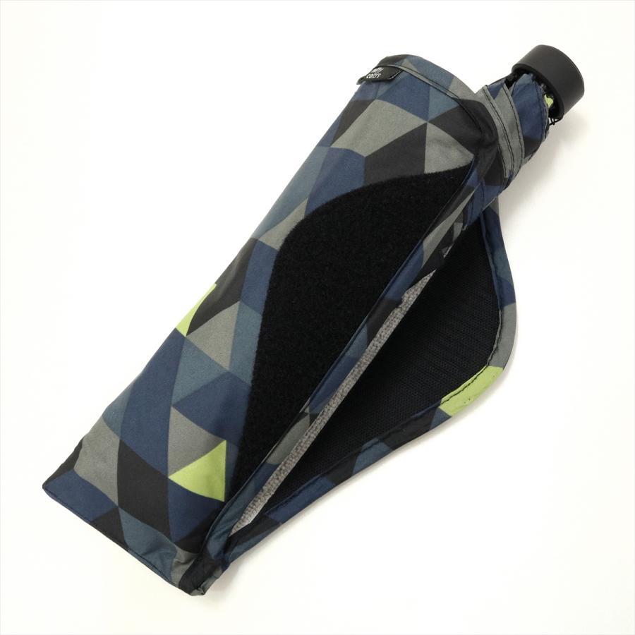 【公式】 ニフティカラーズ 傘  カモフラ モザイク ユニセックス 吸水ケース付 晴雨兼用 大きめ 60cm 折りたたみ ギフト 折傘 紫外線防止|niftycolors|06