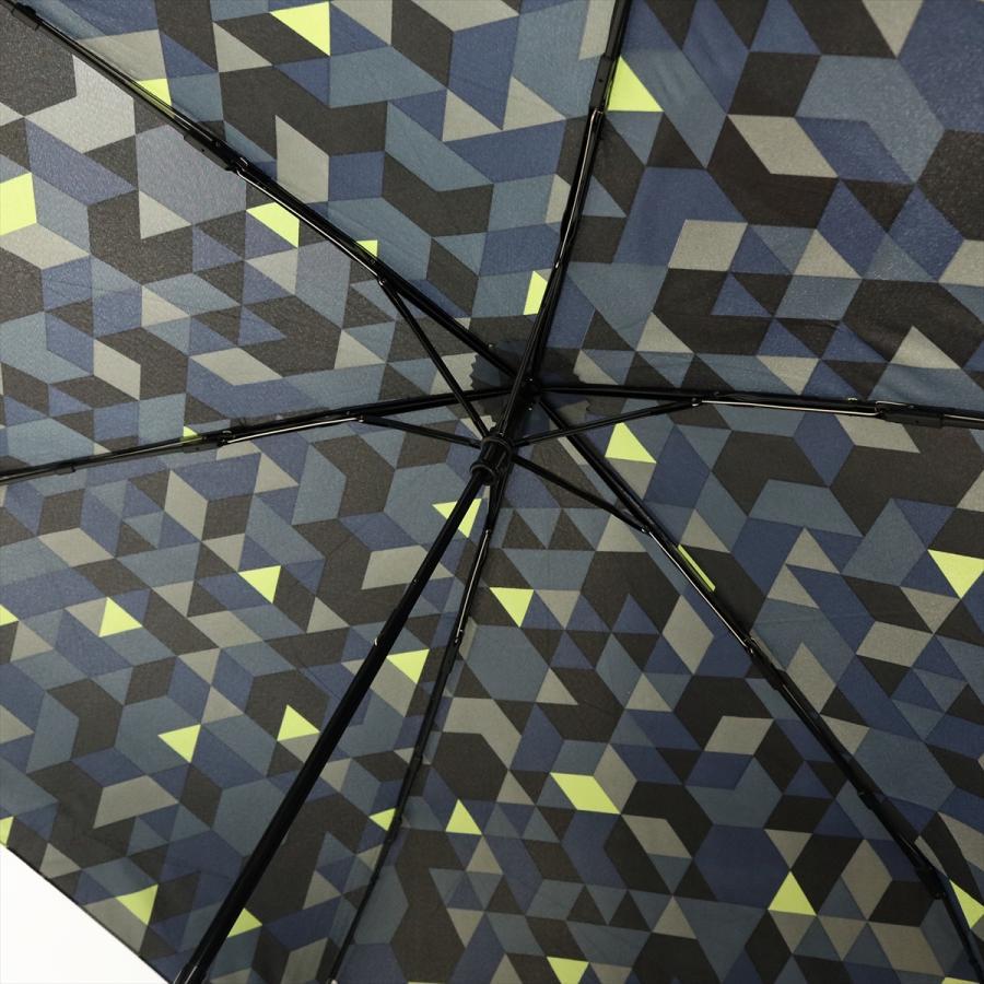 【公式】 ニフティカラーズ 傘  カモフラ モザイク ユニセックス 吸水ケース付 晴雨兼用 大きめ 60cm 折りたたみ ギフト 折傘 紫外線防止|niftycolors|09