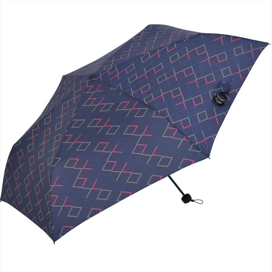 【公式】 ニフティカラーズ 傘  ネオンカラー ユニセックス 吸水ケース付 晴雨兼用 大きめ 60cm 折りたたみ ギフト 折傘 紫外線防止 メンズ|niftycolors|02