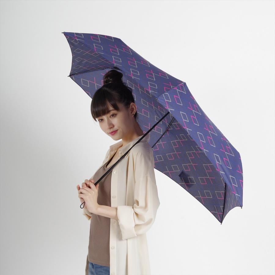 【公式】 ニフティカラーズ 傘  ネオンカラー ユニセックス 吸水ケース付 晴雨兼用 大きめ 60cm 折りたたみ ギフト 折傘 紫外線防止 メンズ|niftycolors|09