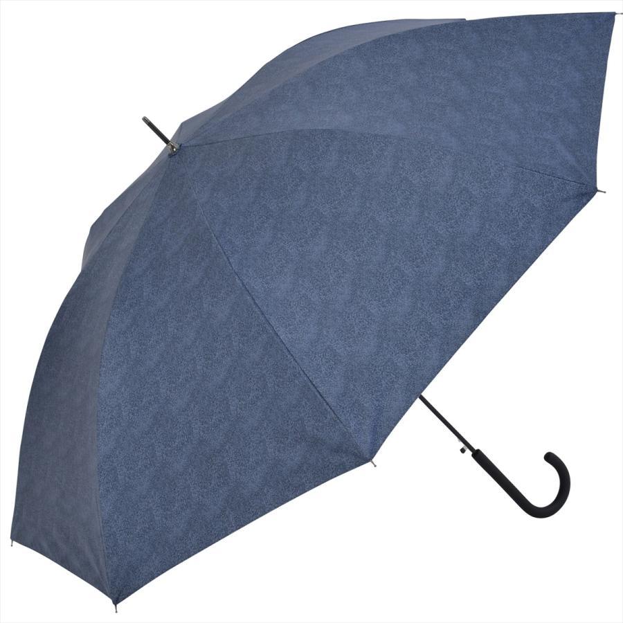 【公式】 ニフティカラーズ 日傘  遮光 デニムプリント  ユニセックス メンズ 晴雨兼用 65cm 大きめ 耐風 長傘 遮熱 PU加工 99.9%|niftycolors|13