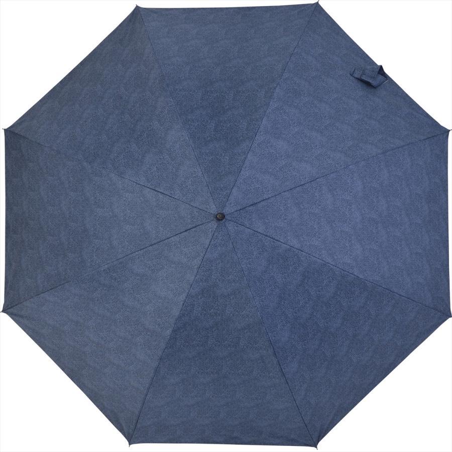 【公式】 ニフティカラーズ 日傘  遮光 デニムプリント  ユニセックス メンズ 晴雨兼用 65cm 大きめ 耐風 長傘 遮熱 PU加工 99.9%|niftycolors|03