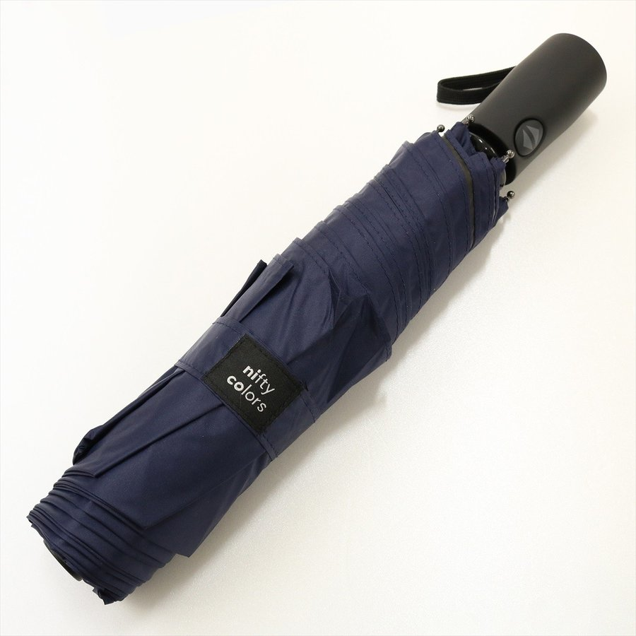 【公式】 ニフティカラーズ 日傘  遮光 無地 自動開閉 ユニセックス メンズ 晴雨兼用 折りたたみ コンパクト 遮熱 PU加工 99.9%|niftycolors|08
