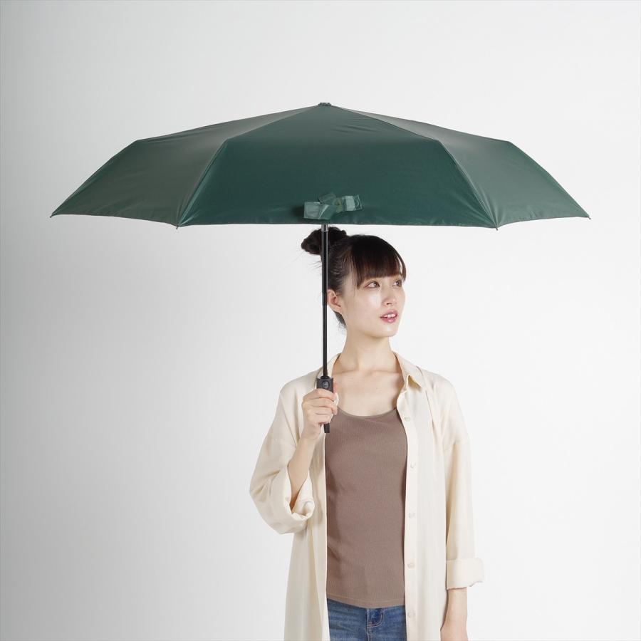【公式】 ニフティカラーズ 日傘  遮光 無地 自動開閉 ユニセックス メンズ 晴雨兼用 折りたたみ コンパクト 遮熱 PU加工 99.9%|niftycolors|12