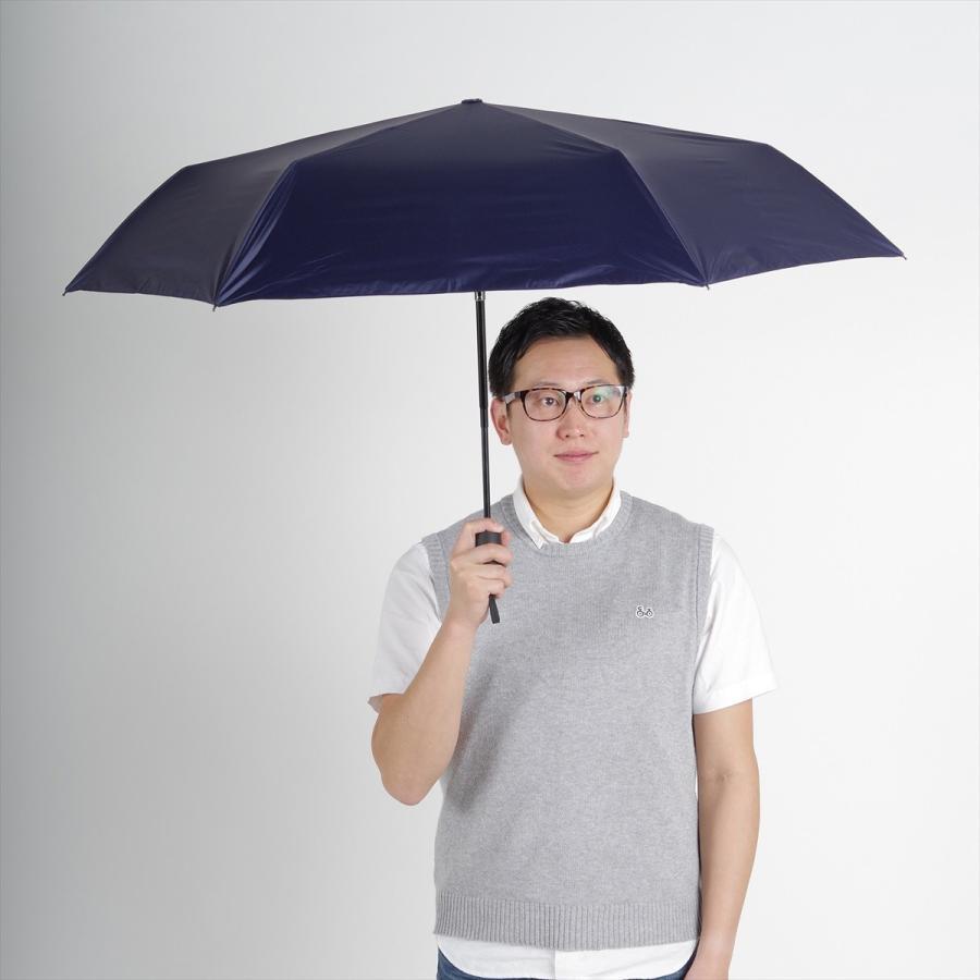 【公式】 ニフティカラーズ 日傘  遮光 無地 自動開閉 ユニセックス メンズ 晴雨兼用 折りたたみ コンパクト 遮熱 PU加工 99.9%|niftycolors|13