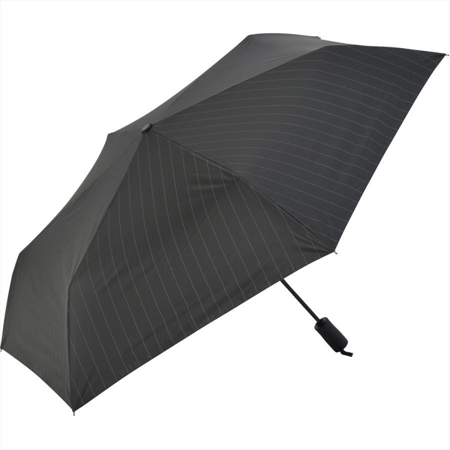 【公式】 ニフティカラーズ 日傘 遮光 ストライプ 自動開閉 ユニセックス メンズ 晴雨兼用 折りたたみ コンパクト 遮熱 PU加工 99.9%|niftycolors|02
