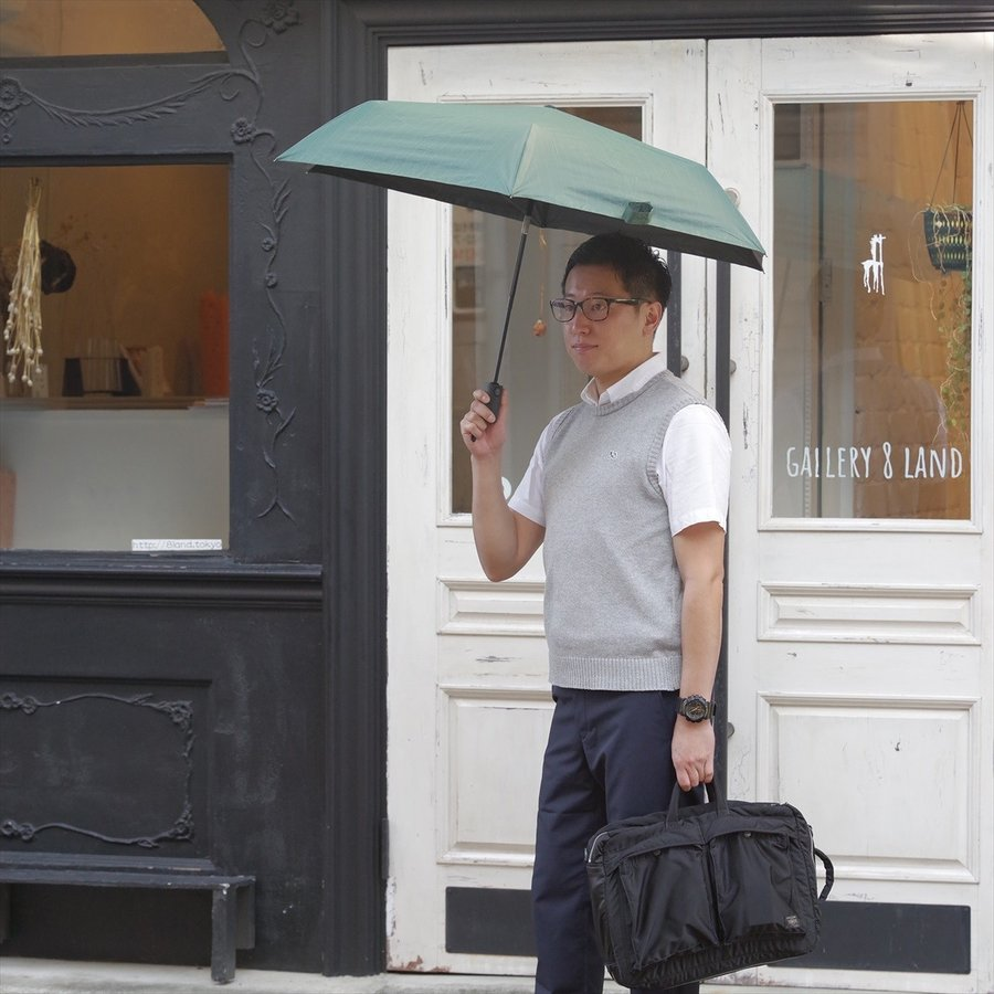 【公式】 ニフティカラーズ 日傘 遮光 ストライプ 自動開閉 ユニセックス メンズ 晴雨兼用 折りたたみ コンパクト 遮熱 PU加工 99.9%|niftycolors|12