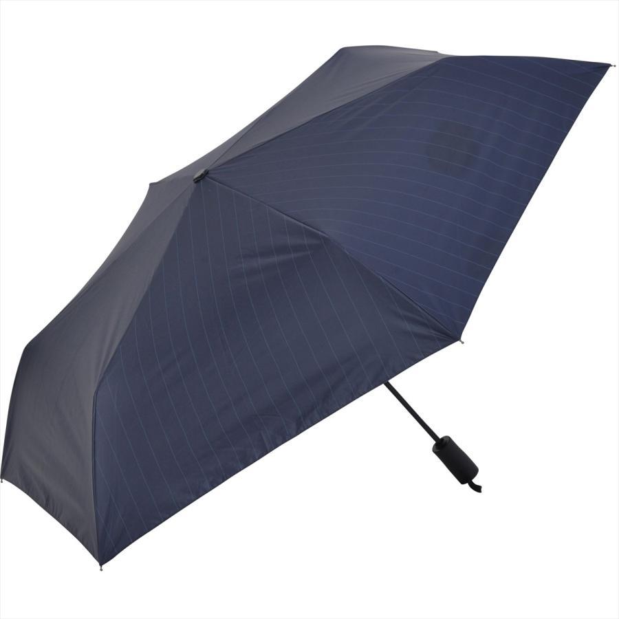 【公式】 ニフティカラーズ 日傘 遮光 ストライプ 自動開閉 ユニセックス メンズ 晴雨兼用 折りたたみ コンパクト 遮熱 PU加工 99.9%|niftycolors|03
