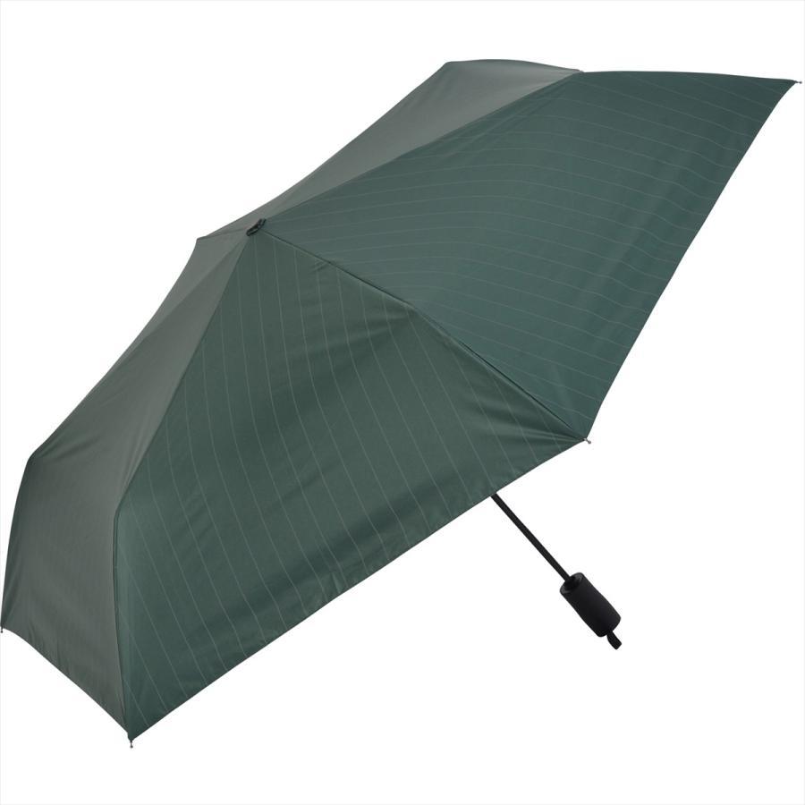 【公式】 ニフティカラーズ 日傘 遮光 ストライプ 自動開閉 ユニセックス メンズ 晴雨兼用 折りたたみ コンパクト 遮熱 PU加工 99.9%|niftycolors|04