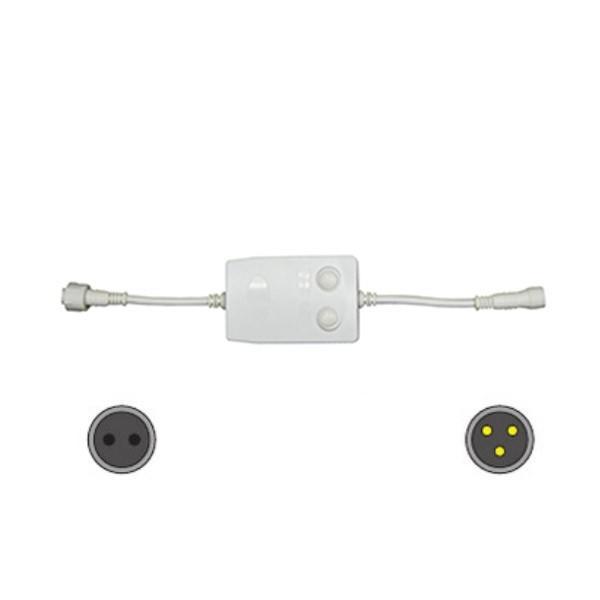 LED用 コントローラー付きコード ALS-A2W&ALS-A2B 10ヶセット イルミネーション オプション 【要在庫確認】  (選べるカラー)