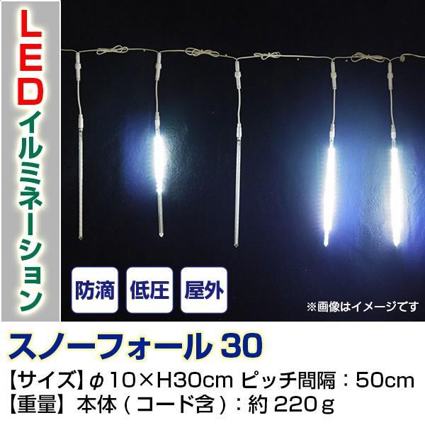 LEDライト LEDイルミネーション スノーフォール30