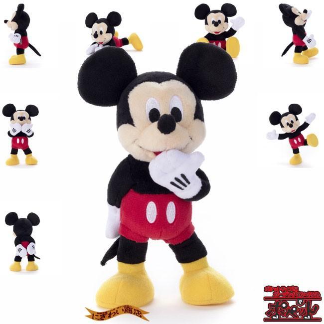 ディズニーキャラクター ポペット ミッキーマウス ぬいぐるみ nigiwaishouten