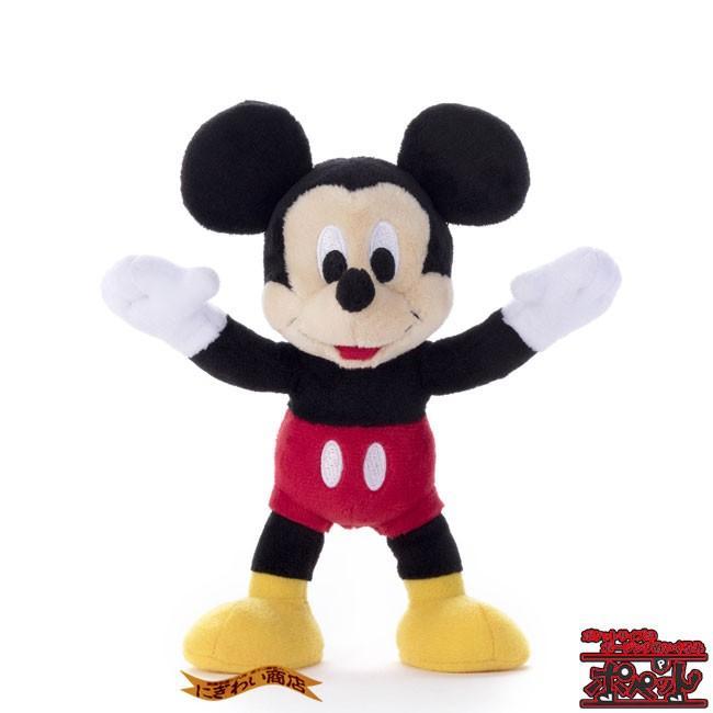 ディズニーキャラクター ポペット ミッキーマウス ぬいぐるみ nigiwaishouten 12