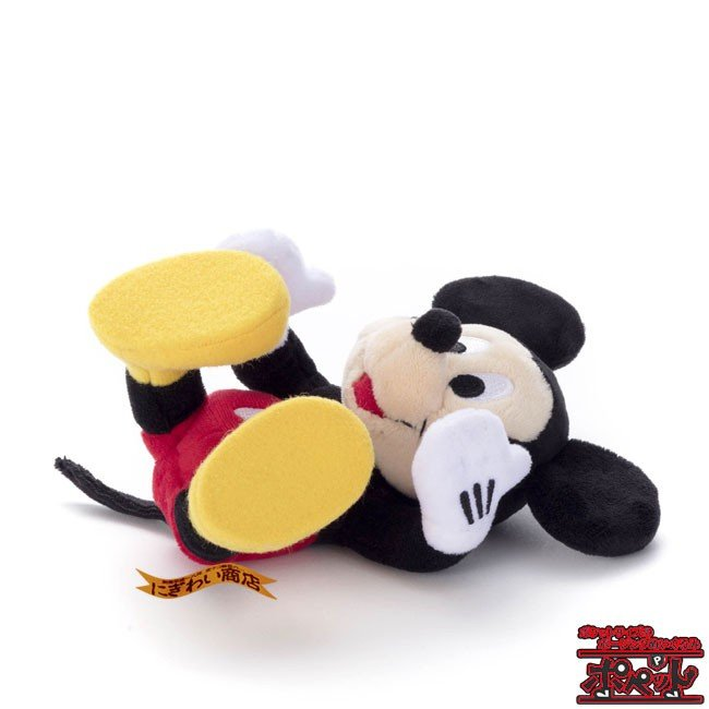 ディズニーキャラクター ポペット ミッキーマウス ぬいぐるみ nigiwaishouten 05