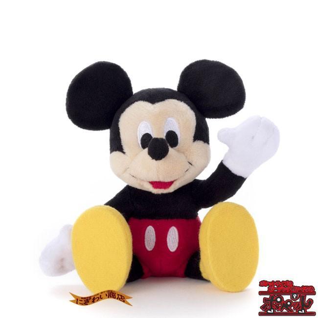ディズニーキャラクター ポペット ミッキーマウス ぬいぐるみ nigiwaishouten 06