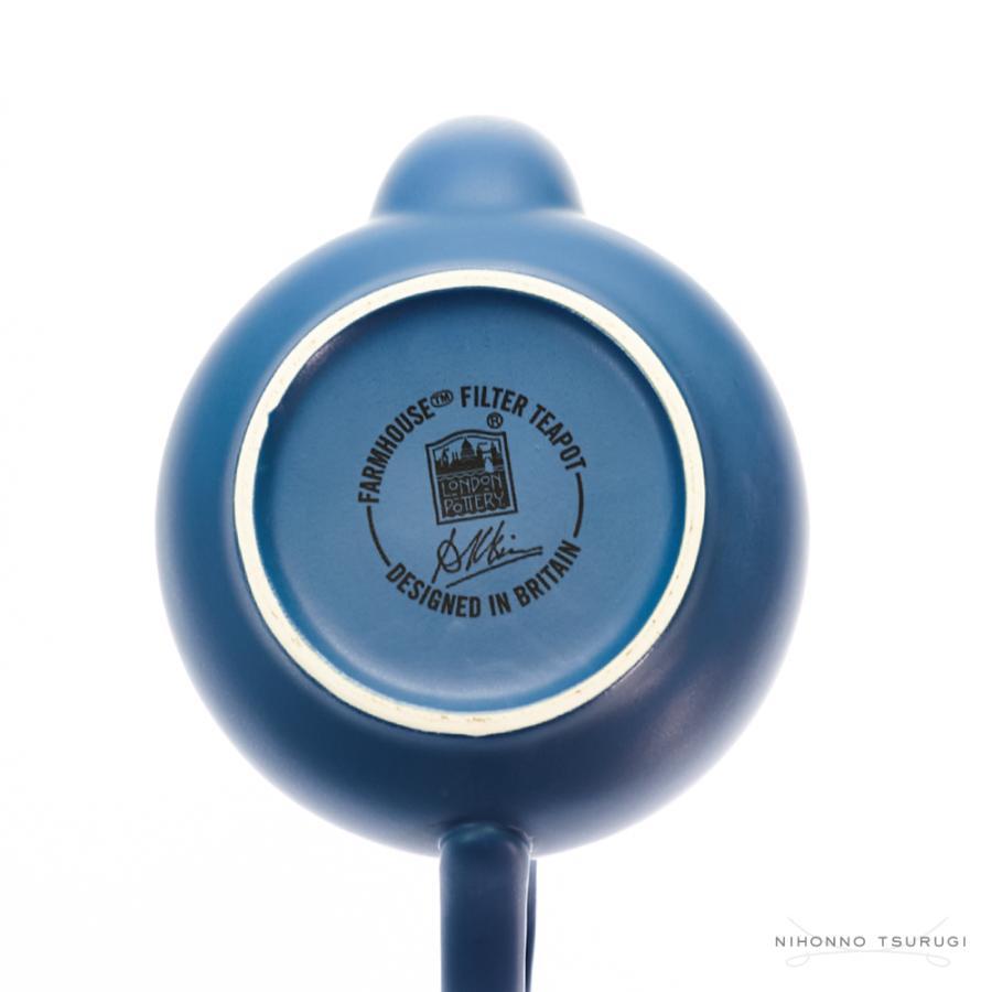 ロンドンポタリー ファームハウス ティーポット ノルディックブルー 2cup nihonnotsurugi 07