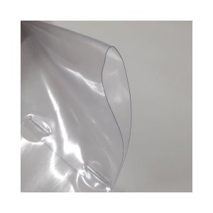 飛沫防止 防炎 透明ビニールカーテンシート(筒縫い加工あり)幅1.8メートル / 丈1メートル / 厚さ0.3ミリ|nihonriko2|03
