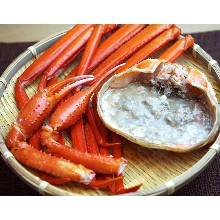 濃厚な旨味!日本海鮮魚センターの「ゆで紅ズワイガニ」 3尾(約1.5kg)/蟹 かに ずわいがに/御歳暮にも!ギフトにも!/のし無料/送料無料|niigata-shop|03