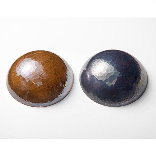鎚器銅器玉盃(※こちらの商品は1枚です。銅面カラーを赤or青からお選びください)三共化研/送料無料|niigata-shop|03