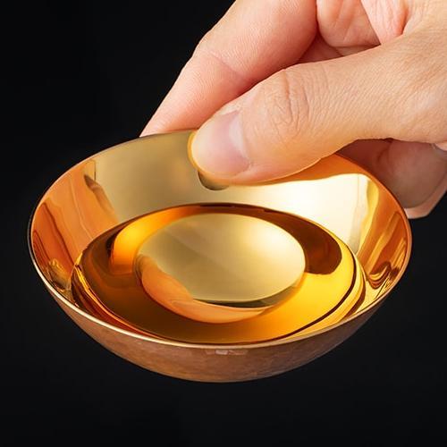 鎚器銅器玉盃(※こちらの商品は1枚です。銅面カラーを赤or青からお選びください)三共化研/送料無料|niigata-shop|05