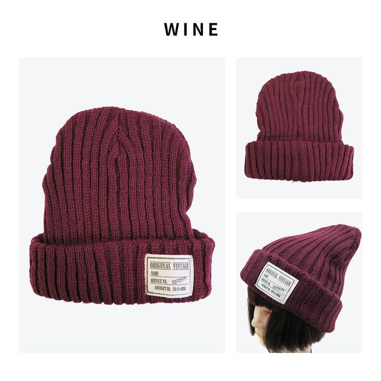 韓国 流行 かわいい ニット帽 ニット 帽子 ワッペン付 レディース メンズ シンプル あったかい カジュアル スキー スノボ 即納 黒とグレーは予約|niitas|10