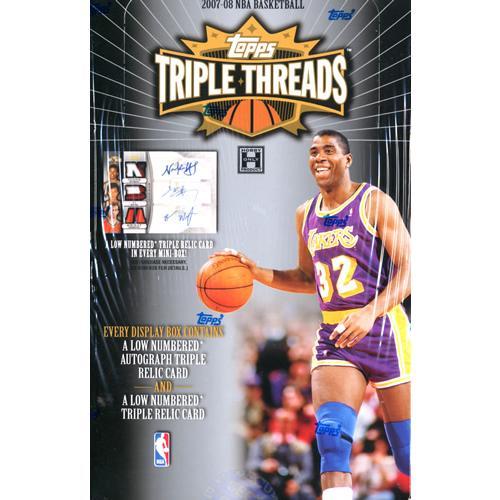 NBA 2007/2008 TOPPS TRIPLE THREADS