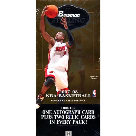NBA 2007/2008 BOWMAN STERLING トレーディングカード