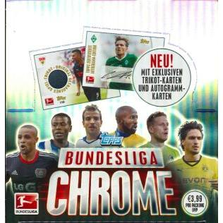 SOCCER 2014 TOPPS CHROME BUNDESLIGA 2013-14 2013-14ドイツブンデスリーガクローム高級版サッカーカード