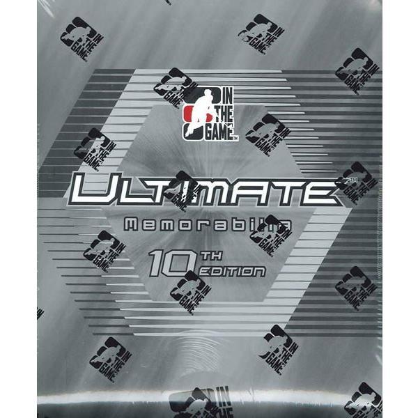 2010/2011 ITG ULTIMATE MEMORABILIA 10TH EDITION