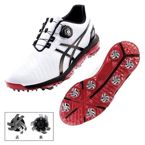 【送料無料】 【お買い得品】アシックス GEL-ACE PRO 3 Boa シューズ TGN919 (0190)ホワイト/ブラック 【 ゴルフシューズ | ダンロップ(DUNLOP) 】