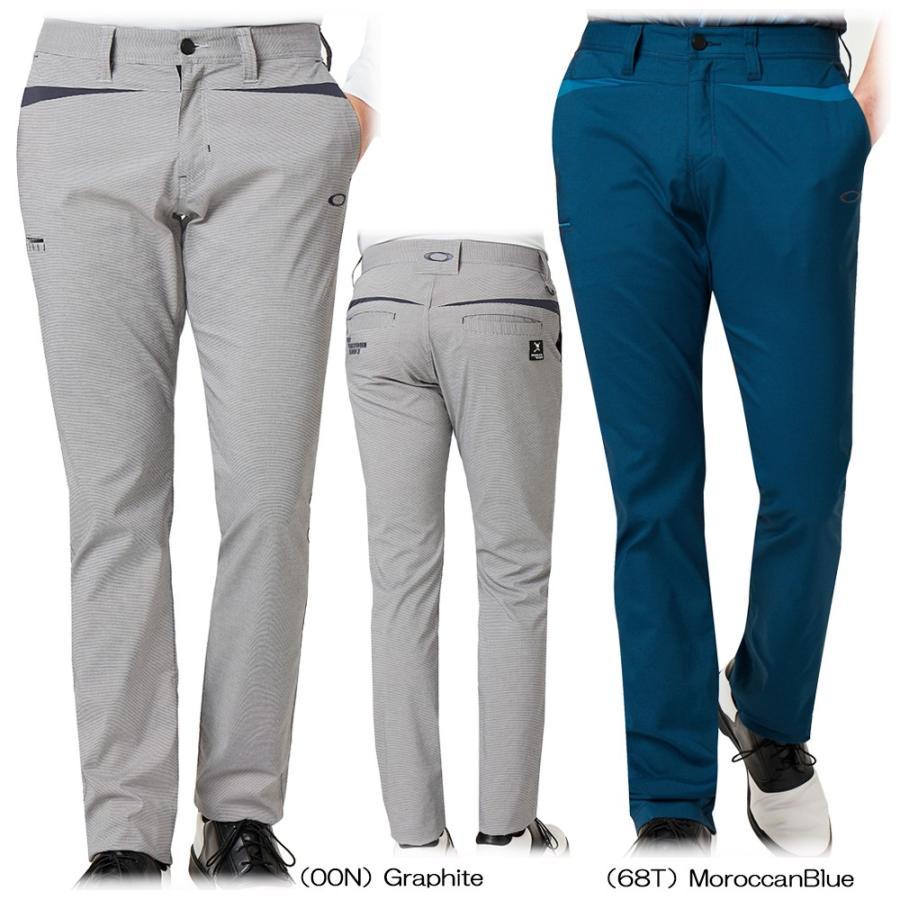 【送料無料】 2019秋冬 Oakley SKULL Pointed Tape赤 Pants 422643JP 【 パンツ・スカート(ゴルフウェア) | オークリー(Oakley) 】