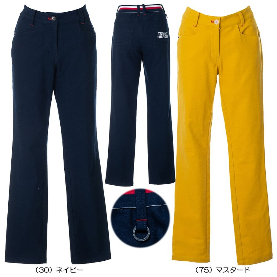 【送料無料】 【レディス】2019秋冬 TH BASIC PANTS THLA964 【 パンツ・スカート(ゴルフウェア)   トミーヒルフィガー 】