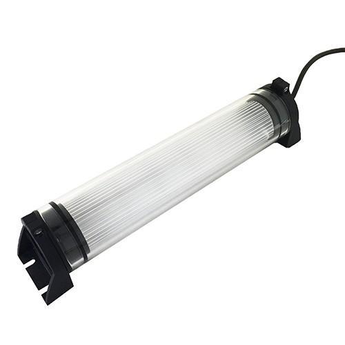 防水型LEDライト IP67 CE REACH サージ保護 ガラス管 NLM10SG-AC 2mケーブル コンセントプラグ付【日機直販】