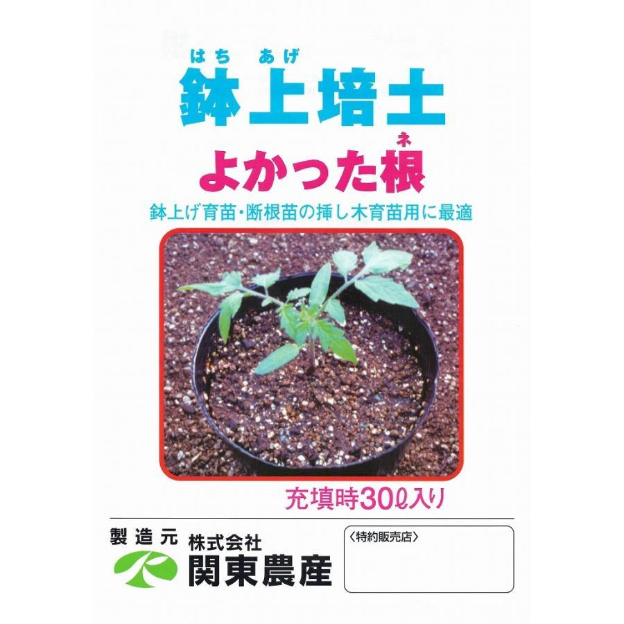 関東農産 鉢上(はちあげ)培土 よかった根 30L×30袋