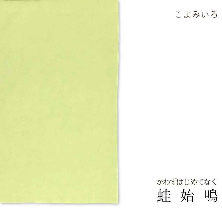 半てぬぐい 色無地 こよみいろ|niko-towel|18