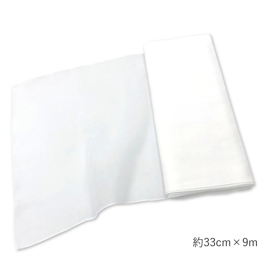 晒 白無地 ガーゼ 1反(9m)|niko-towel|02