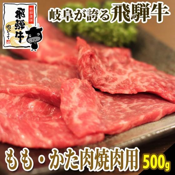 肉 牛肉 焼肉 飛騨牛 飛騨牛ももかた肉 500g おうち焼き肉 バーベキュー 黒毛和牛|nikunohiguchi-yafuu