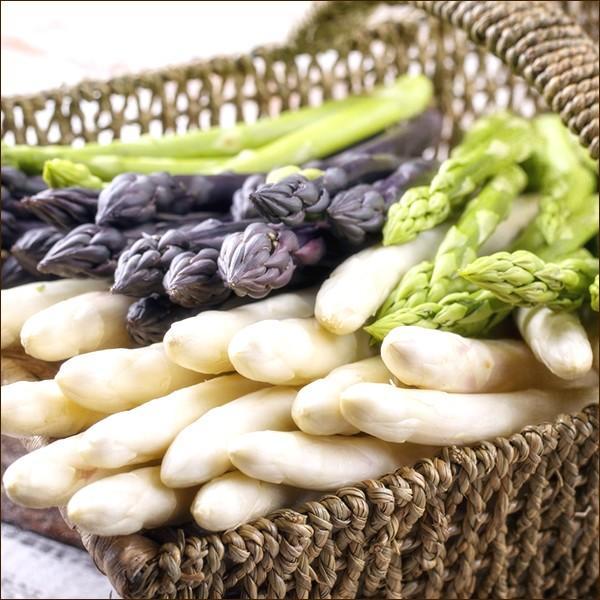 【2022年/予約】母の日 プレゼント 北海道産 アスパラ3色セット 900g(JA共撰/AS-2Lサイズ)  アスパラガス ギフト 贈り物 北海道 グルメ 野菜 お取り寄せ|nikuyama|02