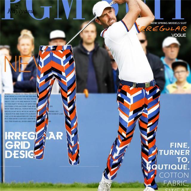 ゴルフパンツ メンズ ゴルフウェア ゴルフズボン オシャレ スポーツウェア ロングパンツ 男性用 ロング丈 UVカット 長ズボン