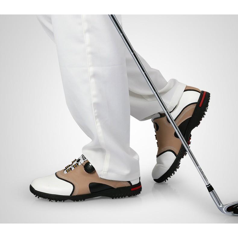 ゴルフシューズ メンズゴルフシューズ ゴルフ靴 スパイク スポーツスニーカー ランニングシューズ 防水 運動靴