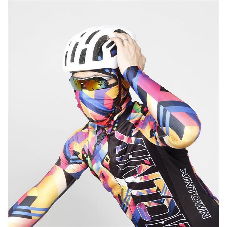 バラクラバ フェイスマスク フェイスカバー 目出し帽 フェイスガード UV ネックガード ネックウォーマー ネックスカーフ 自転車用 防風 防寒 防塵|niltutyuu|18