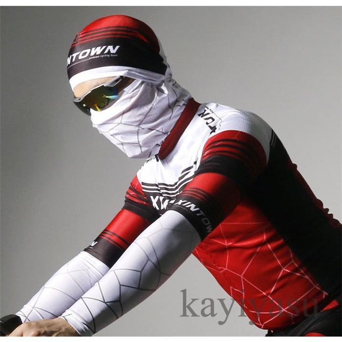 バラクラバ フェイスマスク フェイスカバー 目出し帽 フェイスガード UV ネックガード ネックウォーマー ネックスカーフ 自転車用 防風 防寒 防塵|niltutyuu|19