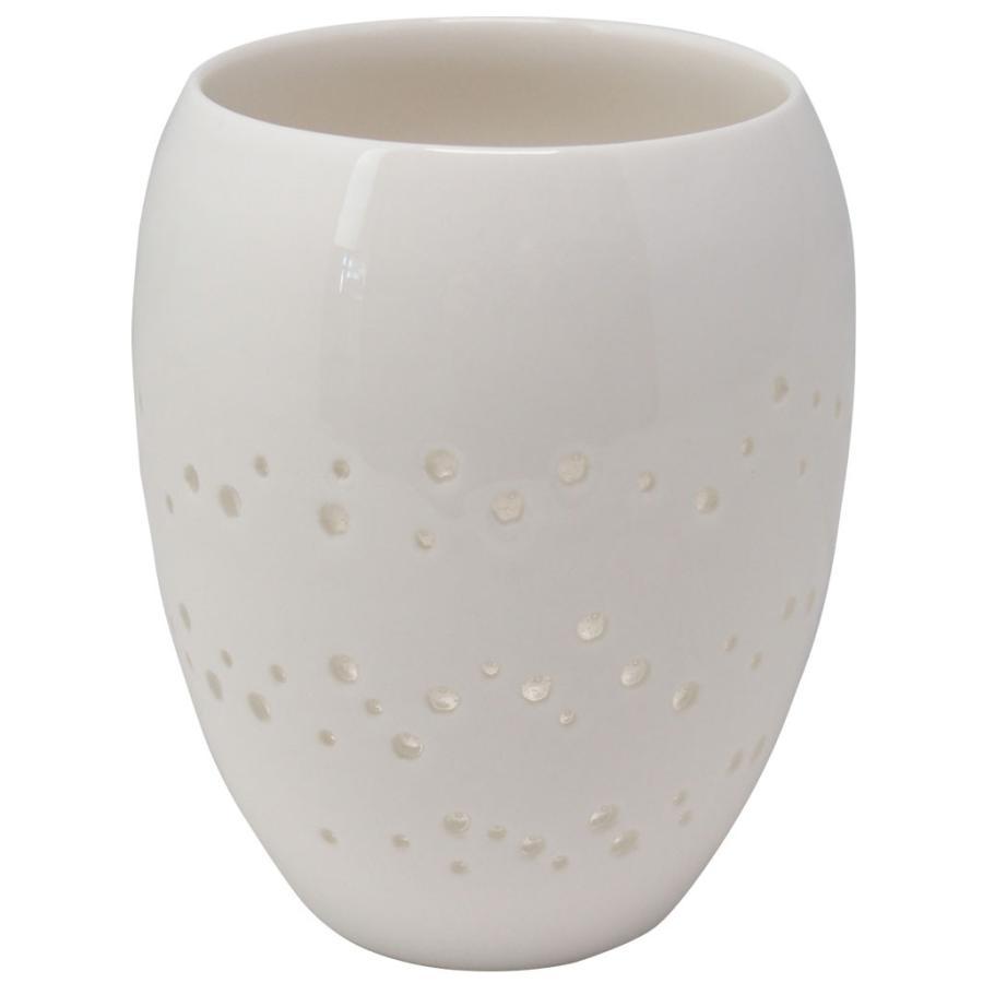 樽型タンブラー 300ml しずく彫り 泡沫-utakata- 陶磁器 コップ フリーカップ グラス 食器 インテリア お祝い 贈り物 プレゼント|nimei8111|08