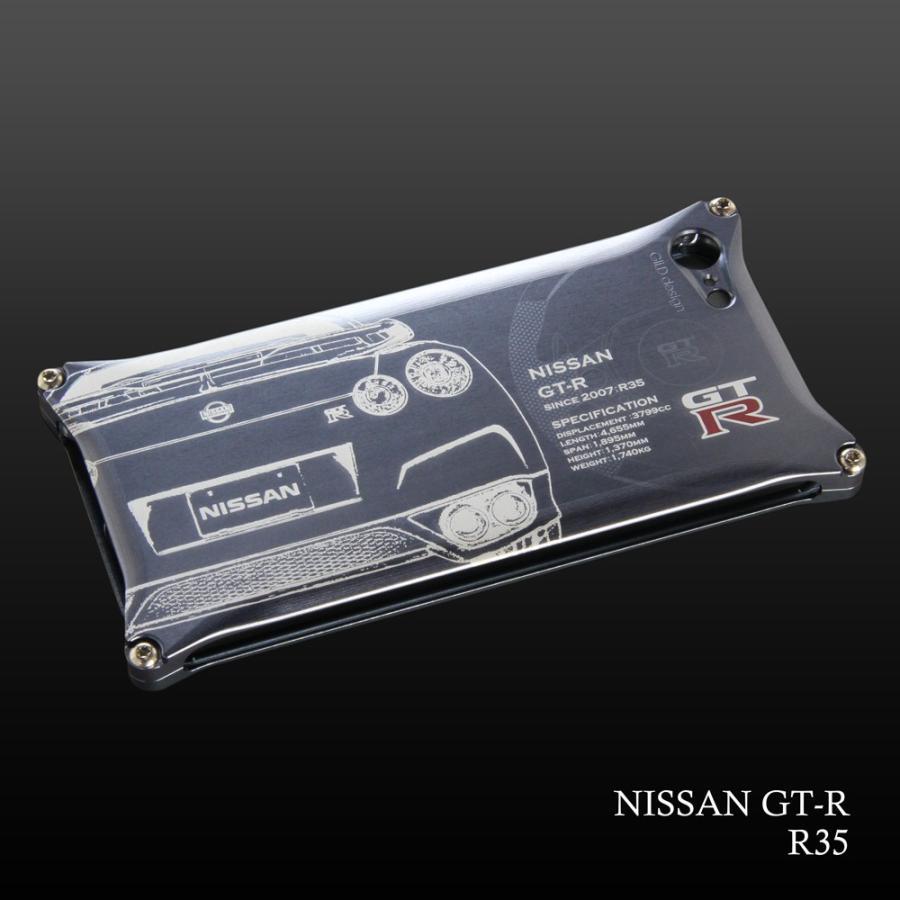日産(NISSAN) GTR for R35 ジュラルミンiPhoneケース [SE(初代)/5/6/6plus対応]|nimitts